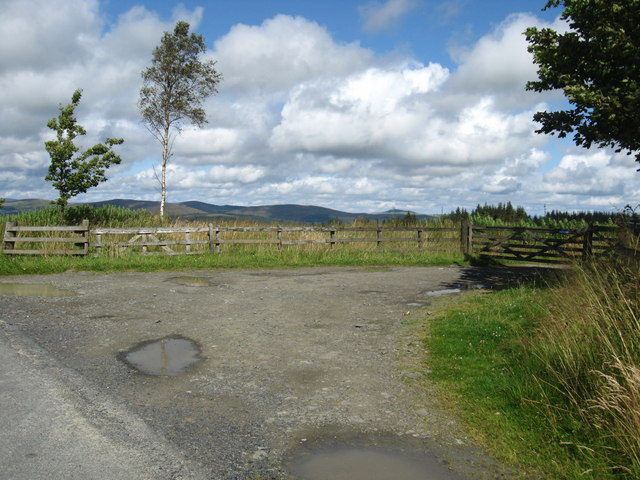 The entrance to the Buccleuch County Ride