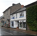SO2242 : Two Castle Street businesses, Hay-on-Wye by John Grayson