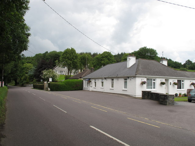 Shournagh Road and house, Boolypatrick, Cork