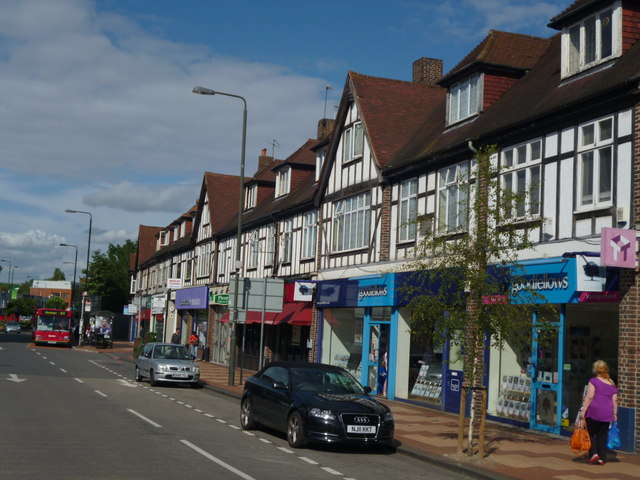 Parade of shops, London Road, Morden