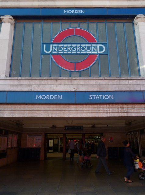 Morden Underground Station, London Road, Morden