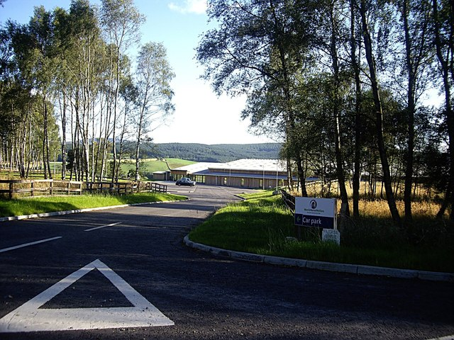 Access to carpark for World Horse Welfare centre