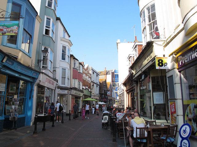 George Street shops
