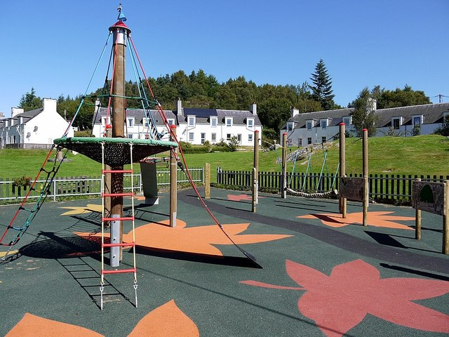 Children's playground, Glenlia Green