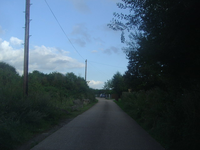 The entrance to Rushett Farm, Chessington