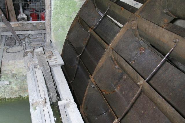 Combe Mill - waterwheel
