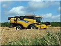SU8411 : Combine harvester waiting : Week 34