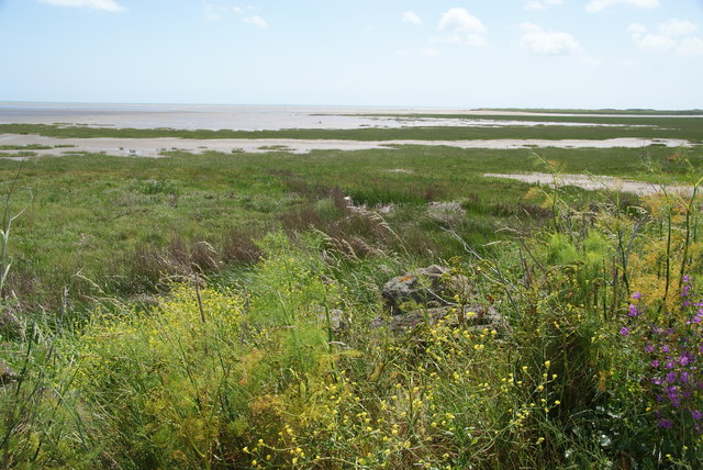 View across the mouth of the Stour