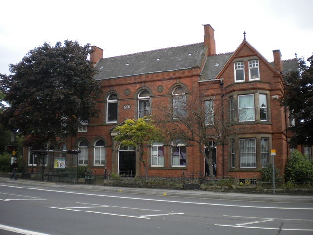 Possible old school on Nottingham Road, New Basford