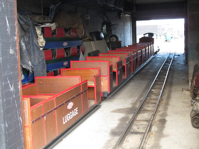 Hastings Miniature Railway - depot