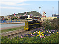 TQ8209 : Hastings Miniature Railway - diesel loco by Stephen Craven