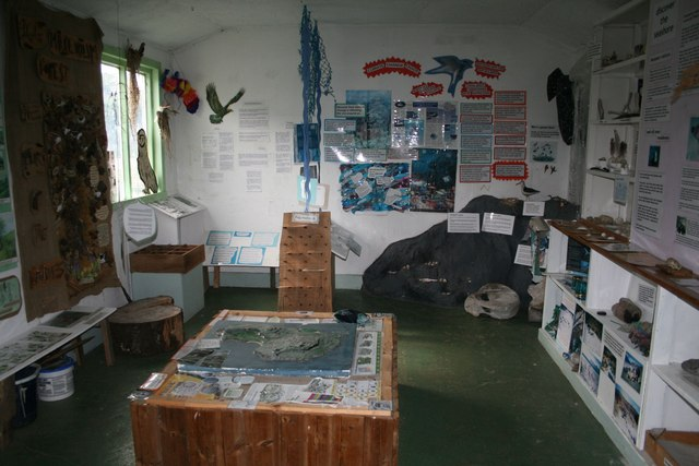 Inside the Old Shop, Isle of Eigg