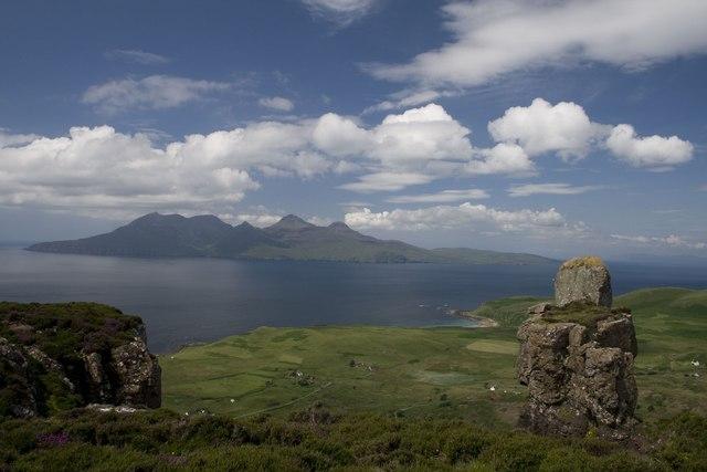 Bidein an Tighearna, Isle of Eigg