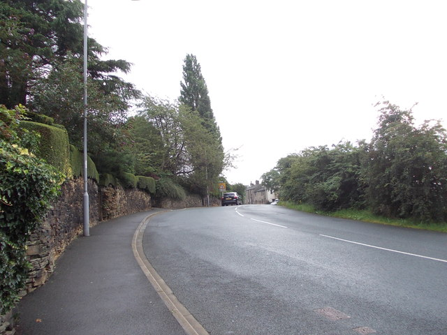 Primrose Lane - viewed from Primrose Bank