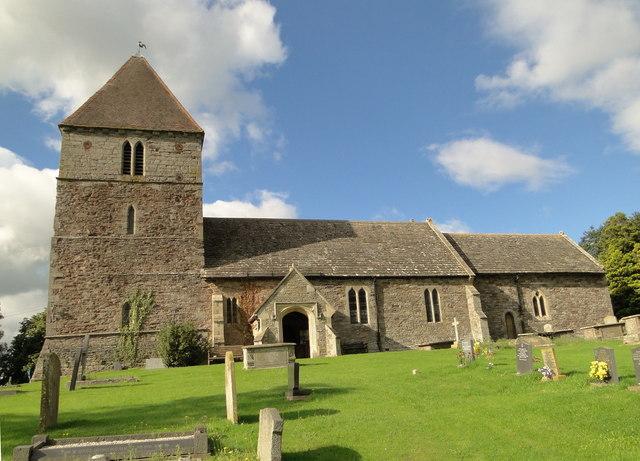 St Mary, Staunton on Wye