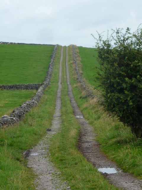 Farm track to Dam Cliff
