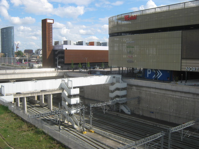 Emergency Stairs to Stratford International Station