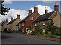 SK4466 : Houses along Heath Main Street by Andrew Hill