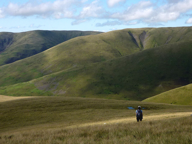 Spurs and ridges of the Howgills