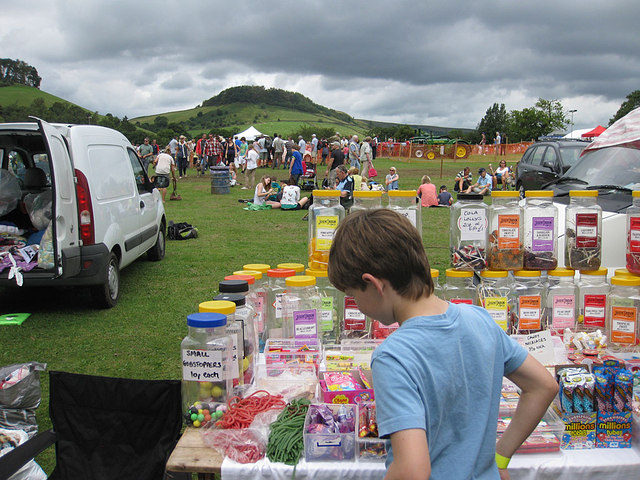 Sweets galore at the Rosedale Show, 2012