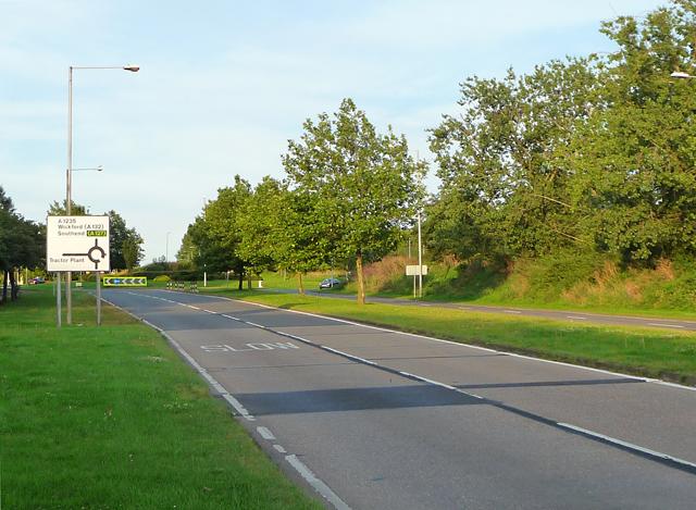 Cranes Farm Road