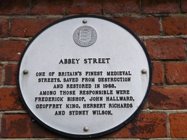 Abbey Street Plaque, Faversham