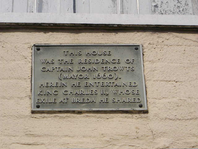 Plaque on No 23 Court Street, Faversham