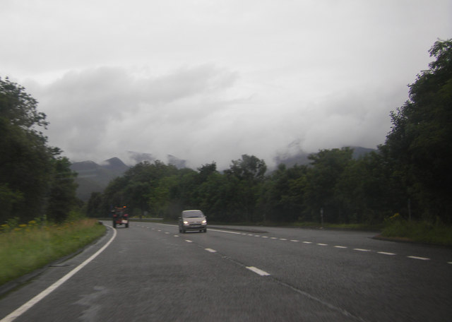 A66 approaching Derwent Bridge