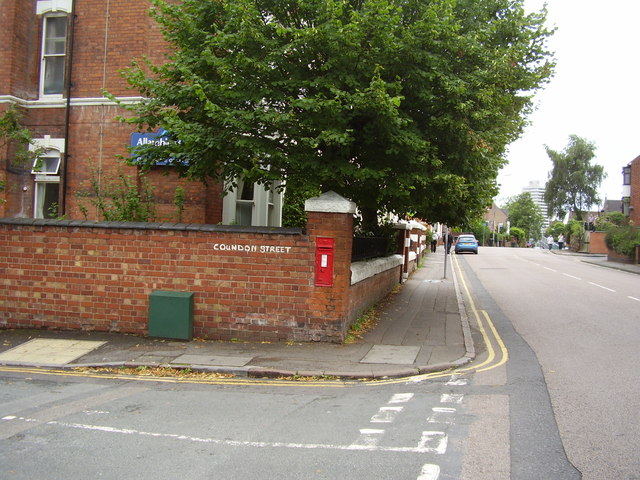 Victorian Post Box, Coundon Street