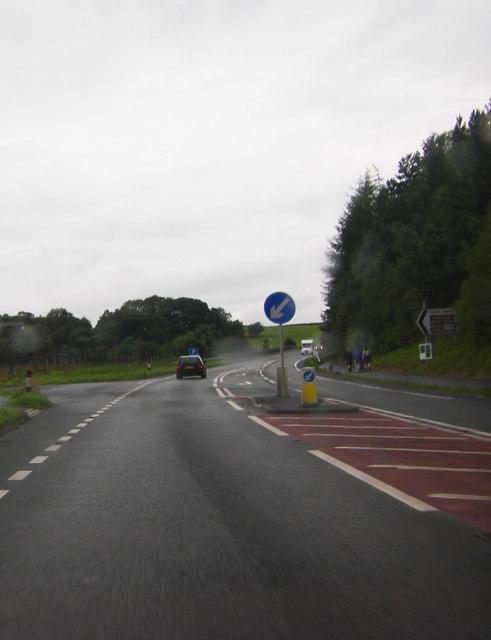 A66 westbound near Threlkeld