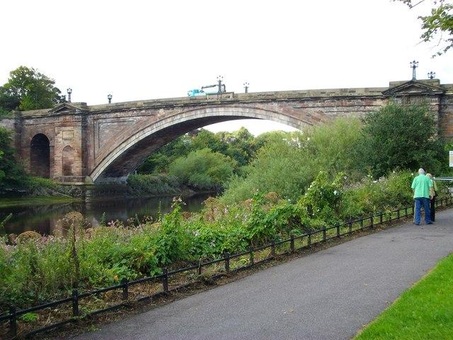 The Grosvenor Bridge