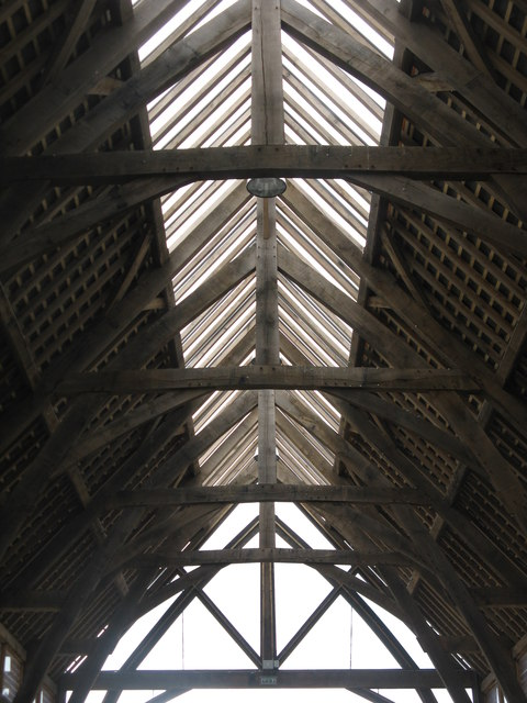 Penistone Market Hall roof