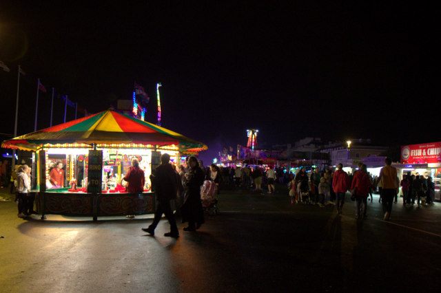 Funfair, The Hoe, Plymouth, Devon