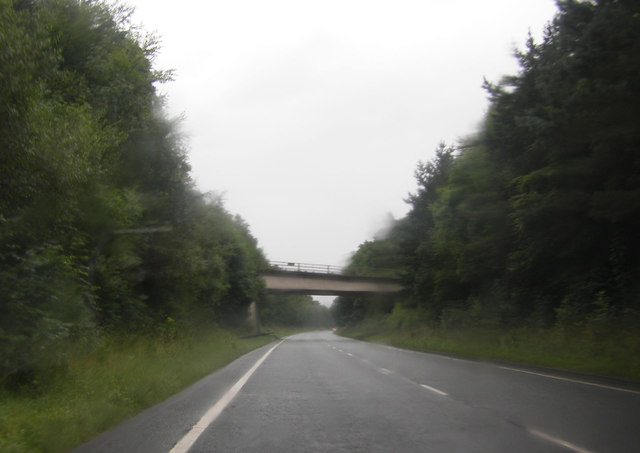 Bridge carrying Strawberry How Rd over the A66