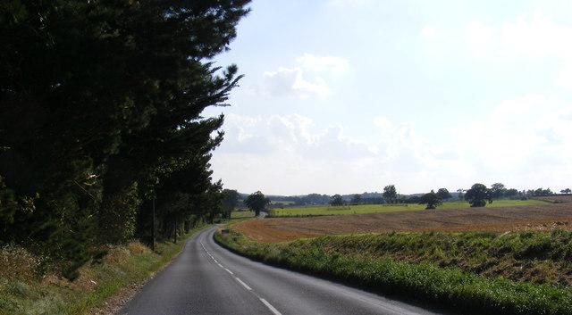B1117 Walpole Road, Halesworth