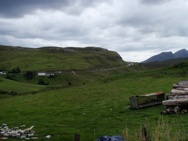 Field in Knockan