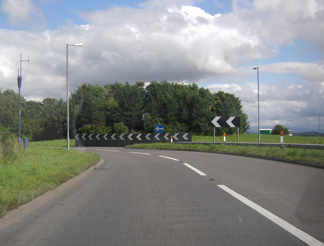 A66 Roundabout near Rheged Discovery Centre