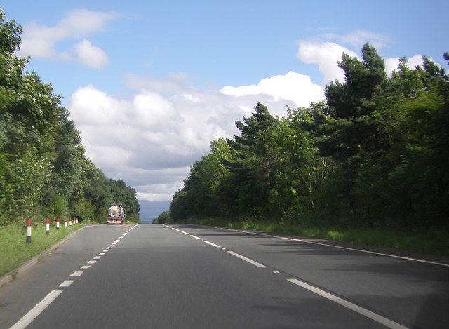 Lay-by on the A66 eastbound