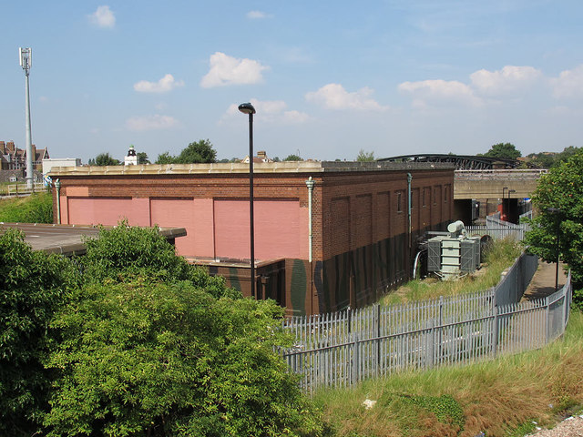 Railway substation