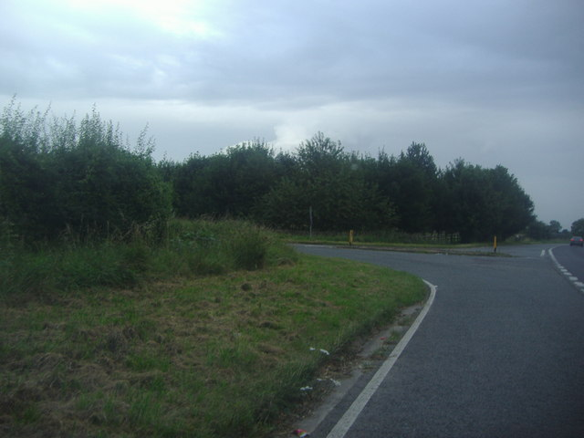 Stratford Road junction on the A44