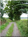 SJ7317 : The byway from Church Aston to Longford Bottoms by Richard Law