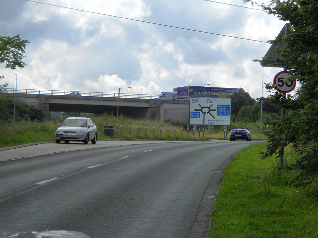 A674 road
