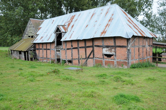 Timber framed barn, Ham Farm