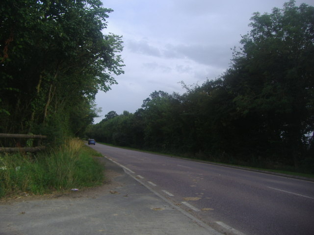The A44 on the Oxfordshire/Warwickshire border
