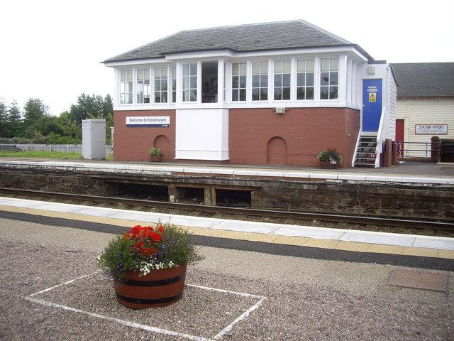 Signal box, Stonehaven Station