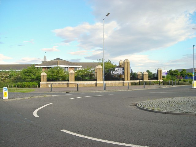 Entrance to Wansbeck Business Park