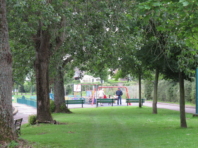 Play area by Cork Lough