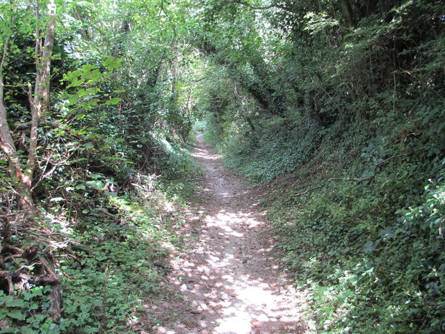Route to Chanctonbury Ring