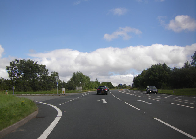A66 by the Mungrisdale turning