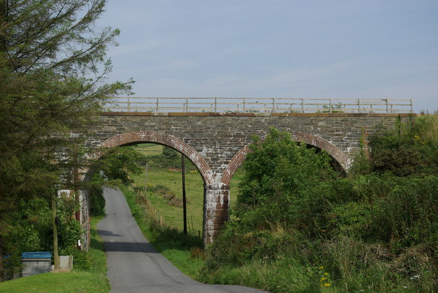 Railway bridge SE of Portpatrick